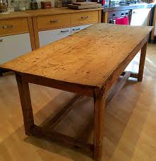 Pine Kitchen Tables And Chairs Http Wwwebaycouk Itm Vintage Pine Kitchen Table Irish Farmers