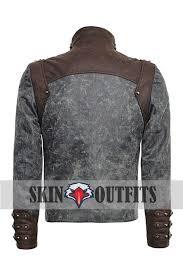 steampunk zipped short punk jacket steampunk