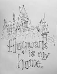 Harry Potter Rocks My World Hogwarts Is My Home 12x18 Hogwarts