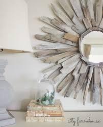 Diy Mirror Projects Thrifty Pretty Diy Driftwood Mirror City Farmhouse