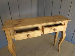 pine console table. Pine Console Table A