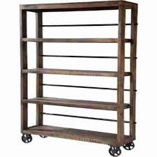 charming wooden shelving unit huge deal on hayden rustic wood open with wheel uk ikea argo