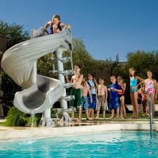 residential indoor pool with slide. Poolslides Residential Indoor Pool With Slide