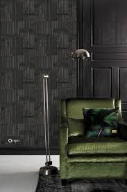 wallpaper industrial metal corrugated sheets black