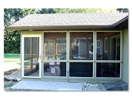how much does it cost to enclose a patio enclosed porch cost rustic pertaining to enclosed enclosed patio cost