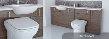 brown bathroom furniture. Fitted Furniture Brown Bathroom O