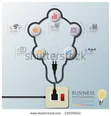 wiring diagram stock photos royalty images vectors light bulb shape electric wire line diagram business infographic design template