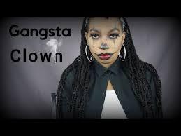 gangsta clown look makeup shayla inspired