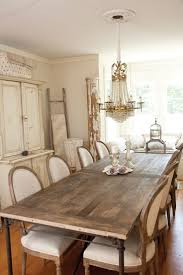 shabby chic dining room furniture beautiful pictures. Farmhouse Table And French Chairs. Is Rustic, Chairs Are Elegant But Have A Sort Of Rustic Finish. They Look Like Restoration Hardware Shabby Chic Dining Room Furniture Beautiful Pictures T