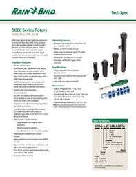 5000 Series Rotors