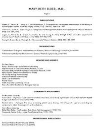 medical school resume samples resume format 2017 updated - Sample Resume  For Medical School