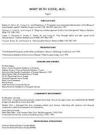 medical school resume samples resume format 2017 updated - Sample Resume  For Medical School