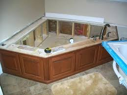 fantastic whirlpool tub surround ideas the best bathroom diy over tile how to build a