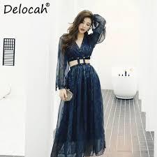 2019 <b>Delocah Women Spring Summer</b> Sets Runway Fashion ...