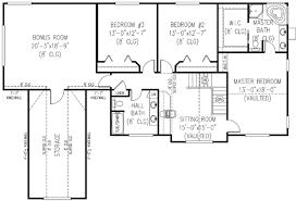 Farmhouse Style House Plan   4 Beds 2.50 Baths 2579 Sq/Ft Plan #11