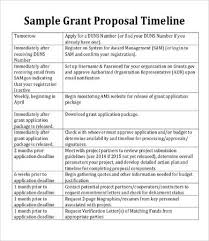 Proposal Timeline Template - 9+ Free Word, Pdf Documents Download ...