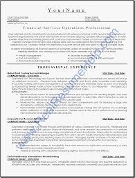 Financial Services Resume Financial Advisor Resume Example Free Download Financial Advisor