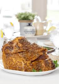 mustard glazed ham simply made recipes