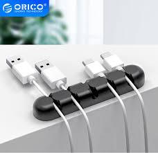 <b>Orico Cable Organizer Silicone</b> Minimalistic Winder Desktop Tidy ...