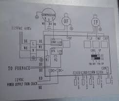 rv rooftop a c mpu replacement bull io here is the wiring diagram of the system conveniently located on the inside of the access panel