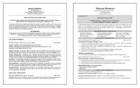 resume same multiple careers resume example