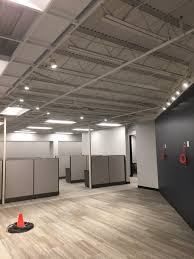 office space lighting. Renovation Of Office Space Installation New Lighting, Fire Alarm, And A Telecommunications System On Dodge Avenue In North Haven, CT Lighting T
