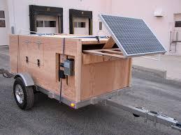 picture of homebuilt camper trailer