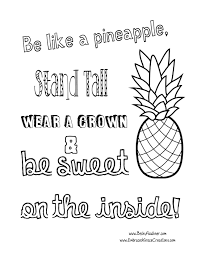 Coloring Book Pineapple Coloring Page Inside Bitslice Me Sheets