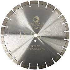 concrete saw blade. whirlwind usa tss 14 inch 15mm segment laser welded dry or wet cutting general purpose segmented concrete saw blade .