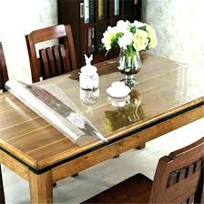 dining tables glass top cover for dining table hard plastic protector round covers room clear