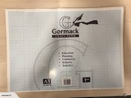 Paper Pads A3 Size For Graphing Technical Drawing