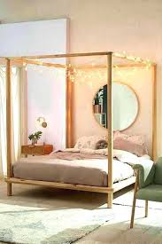 Wood Canopy Bed King Wooden Poster Beds Best Canopy Bed Frame Ideas ...