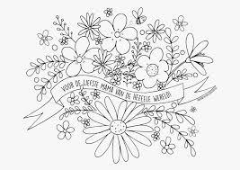 Kleurplaat Moederdag Bloemen With Regard To Kleurplaat Bloemen