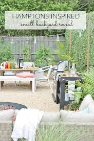 how to build a pea gravel fire pit unique hamptons inspired small backyard reveal of how