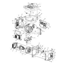 54 generac portable generator parts diagram dzmm