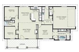 ranch style house plans 3 bedroom plan beds 2 baths sq ft 4 architectures drop dead