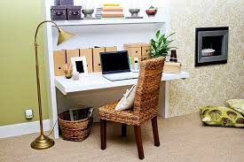 simple home office ideas. Cute Little Office Space Design Is All About Keeping It Simple! Small Home Ideas Simple E
