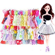 <b>21Pcs</b>/<b>Set</b> Barbie Clothes Set Include 1 Dolls 20Pc Barbie Doll ...