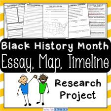 black history month research project essay map and timeline tpt black history month research project essay map and timeline