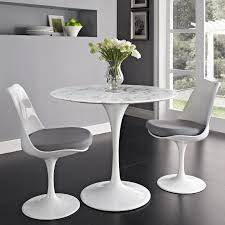 gray dining table. Tulip Style 36 Marble Dining Table Tables Free Shipping Gray E