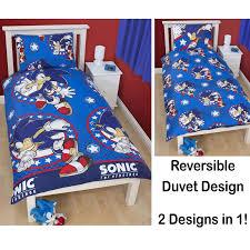 Sonic Bedroom Decor Disney And Character Single Duvet Cover Sets Kids Childrens