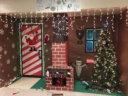 Images christmas decorating contest Living Room Dakota Design Technology Door Decorating Contest