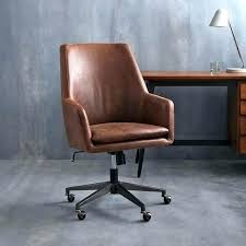 swivel office chair distressed brown leather desk nice chairs awesome ch