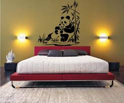 Panda Wall Decal Sticker Home Décor 32u2033 X 29u2033