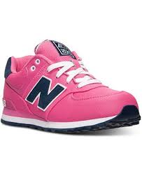 new balance girls. new balance girls\u0027 574 pique polo casual sneakers from finish line girls b