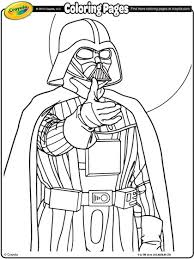 Small Picture Star Wars Darth Vader Coloring Page crayolacom