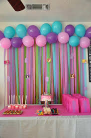 wall decoration ideas for birthday party cormansworld com