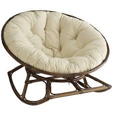 papasan rocking chair