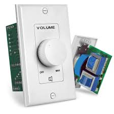 PyleHome PVC1 Wall Mount Rotary Volume C- Buy Online in Dominica at  Desertcart