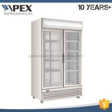 Stand Up Display Freezer China R100A Two Door Commercial Upright Display Freezer for Coca 69
